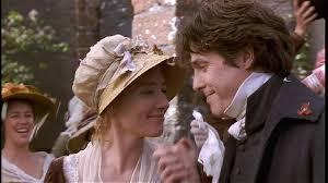 Emma Thompson and Hugh Grant as Elinor and Edward Ferrars